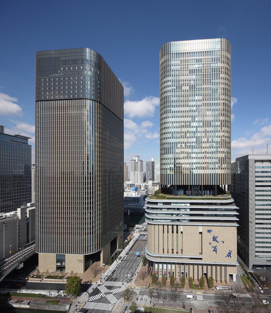 朝日新聞社 中之島フェスティバルタワー