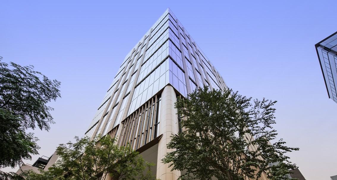 田辺三菱製薬の「新本社ビル・加島オフィス棟」のCM業務を実施