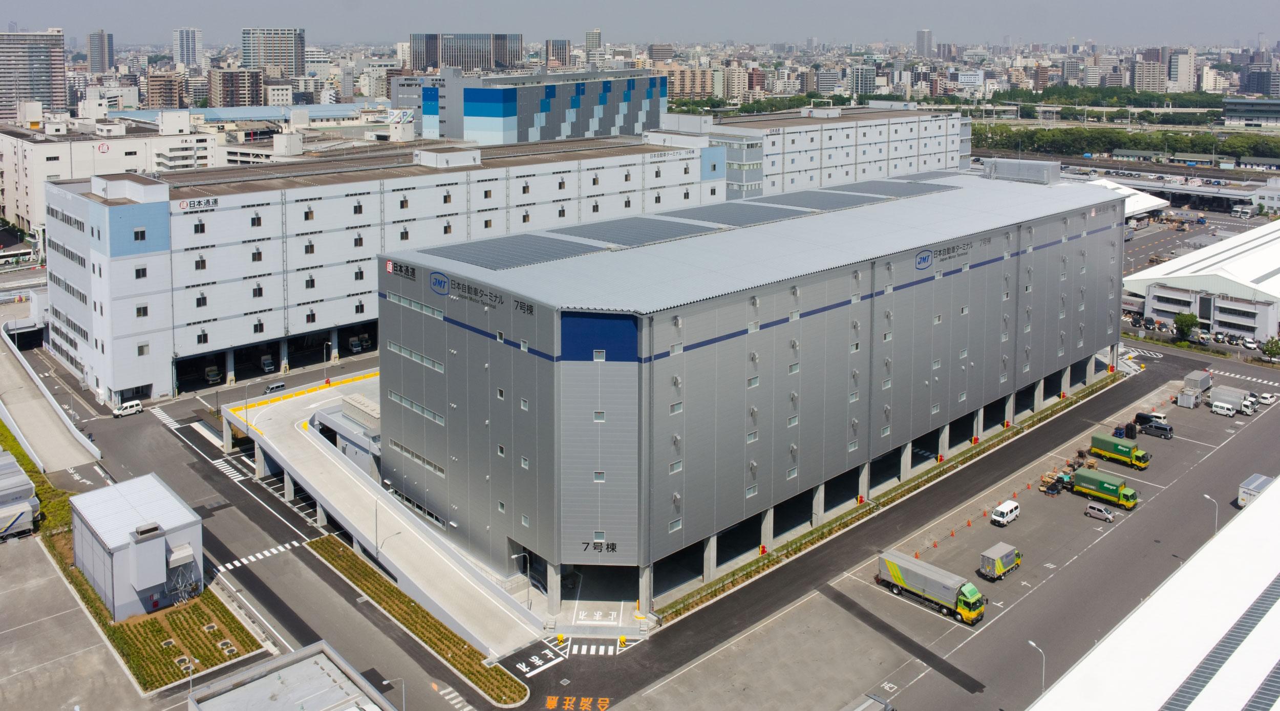 日本自動車ターミナル京浜トラックターミナル新7号棟 | 事例・実績 ...