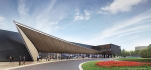 (仮称)JFAナショナルフットボールセンター 完成イメージ