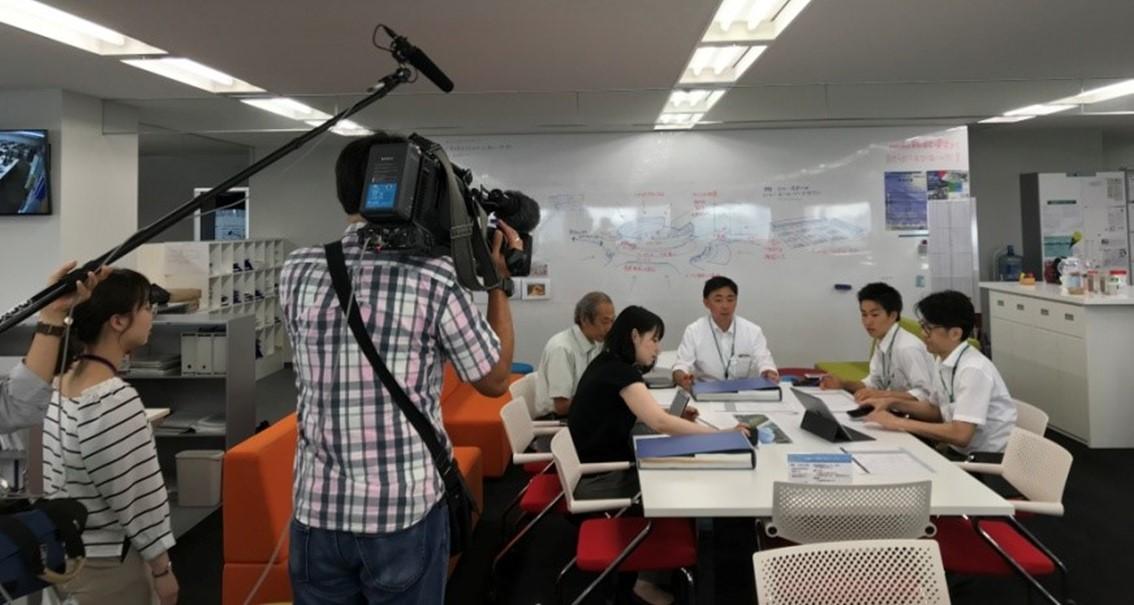 「NHKニュース おはよう日本」(8月3日)で紹介されました