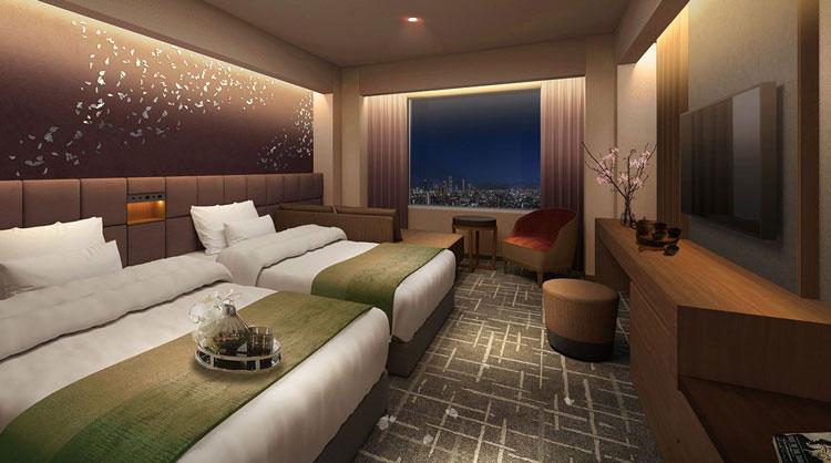 「リーガロイヤルホテル小倉」客室・ビュッフェレストラン リニューアル